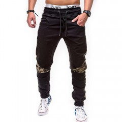 Pants Camouflage Tactical Cargo Pants Men Joggers Military Justin Bieber Casual Pants Hip Hop Rib