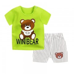 Clothing Sets Cotton Baby Boys Clothes Set Summer Star Printed Kids Shorts Suits Boy Clothes Summ