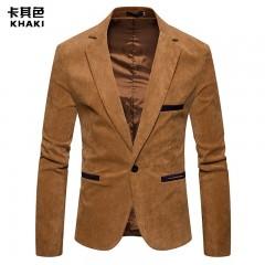 New Mens Fashion Brand Blazer British's Style casual Slim Fit suit jacket male Blazers men coat T