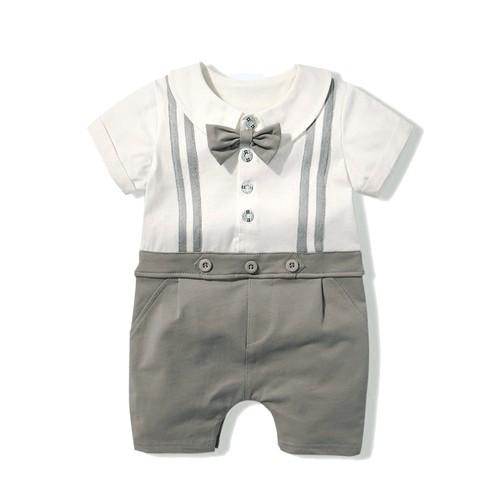 522d49b8f9cb summer baby boy romper newborn short sleeve 100%cotton girls ...