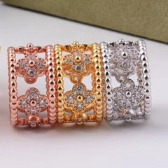 east Muslim High quality brand kaleidoscope hollowed out with cz ring full AAA stones wedidng lov