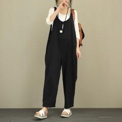 New Design Hot Sale Fashion Pattern Korean Increase Hypertrophy Code Easy Leisure Time Pants Trou