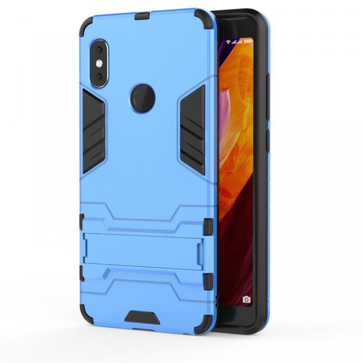 2eedf4da102 Holder Case for Xiaomi Redmi Note 5 Pro Cover Coque Shockproof Armor Soft  TPU Hybrid Hard