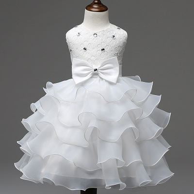 c71821203bbb Girl Dress Summer Floral Baby Girls Dress Vestidos Wedding Party ...