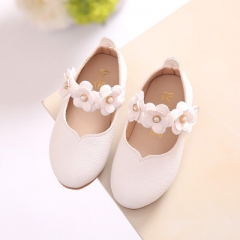2017 New Spring Children Shoes for Girls Flower Kids Casual Sneakers Baby Toddler Shoes white uk5.5