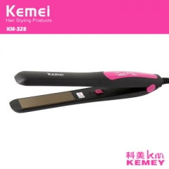 110-240V Hair Straightener Professional Tourmaline Ceramic Flat Iron Straightening Irons black normal