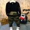Boys Clothing Sets Baby Spring Sports Casual Long Sleeve Shirt+Pants Kids 2PCS Camouflage Kids black 100cm