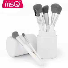 12pcs Fashio Lovely Travel Makeup Brush Set Synthetic Mini Makeup Brushes With Bag as picture