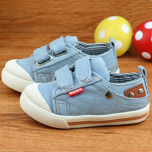 68cef74e Kids Shoes for Girls Boys Sneakers Jeans Canvas Children Shoes Denim  Running Sport Baby Sneakers sky blue uk9: Product No: 285169. Item  specifics: Brand: