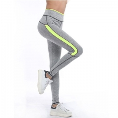 2017 Women Lady Activewear Pink Legging Spring Summer light grey Pant Autumn High Waist Leggins green s