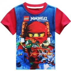 Boys T-shirts Bobo Choses Boy Shirt Children T Shirt for Boy Tops Tees Boys Shirt Kids Clothes red 100cm