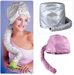 Practical Home Salon Barber Hair Dryer Bonnet Hood Head Cover Baked Oil Cap Hat random normal