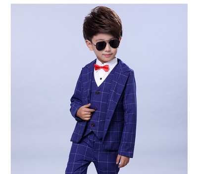 65892a63 ... Formal Dress Suit Boys wedding suit Kid Tuxedos Page boy Outfits blue  120cm: Product No: 296904. Item specifics: Brand: