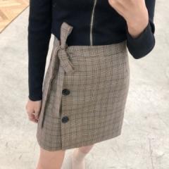 Women Skirt Plaid Fashion 2017 Spring Summer Party Ladies Fashion Street Chic Skirts Elegant Casual coffee s