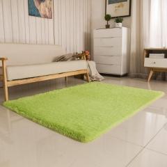 Soft Carpet For Living Room Warm Plush Floor Rugs fluffy Mats Faux Fur Area Rug Living Room Mats light green 40*60