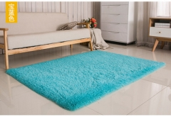 Soft Carpet For Living Room Warm Plush Floor Rugs fluffy Mats Faux Fur Area Rug Living Room Mats blue 60*120