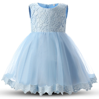 Winter Baby Girl Gown Infant Princess Dress Birthday Outfits