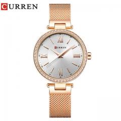 Fashion Silver Women Watches High Quality Ultra thin Quartz Watch Woman Elegant Dress Ladies Watch rose white