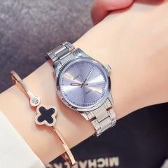 Luxury Bracelet Women Watches Waterproof Steel Silver Female Clock Dress Ladies Quartz Wrist Watch blue