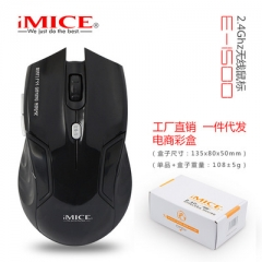imice Wireless Mouse 2.4G USB Optical Computer mouse Gamer Mice 6 Buttons Cordless Gaming Mouse black wireless