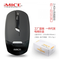 Wireless Mouse Ultra Slim Computer Mouse 2.4G Optical Gaming Mouse Gamer Mice USB Receiver mouse black wireless