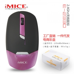 Wireless Mouse Ultra Slim Computer Mouse 2.4G Optical Gaming Mouse Gamer Mice USB Receiver mouse purple wireless