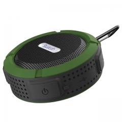 Wireless Portable Bluetooth Speaker Waterproof Outdoor Loudspeaker Mini Speakers Support TF Card green black