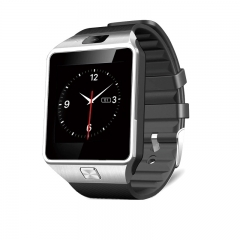 Smart Watch DZ09 Bluetooth Sport Pedometer Support SIM/TF Phone Camera Men Wristwatch for Android silver