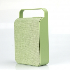 Portable Bluetooth Speaker  Outdoor home TF card USB Wireless Canvas Wireless Speaker green 10W HS-345