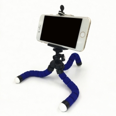Smartphone Stand Holder Mount Phone Holder Phone Stand CameraTripod And Mobile Phone Clip  Octopus Blue Bracket one size