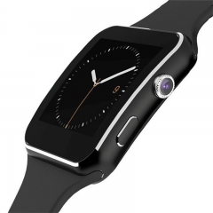 Smart Watch with Camera Touch Screen Support SIM TF Card Bluetooth Smartwatch Black