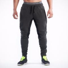Mens Joggers Male Fitness Casual Fashion Sweatpants Bottom Snapback Pants Men Aesthetics Hombre black m