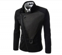 Business mens blazer Casual Blazers Men Formal jacket Popular Design Men Dress Suit Jackets black m