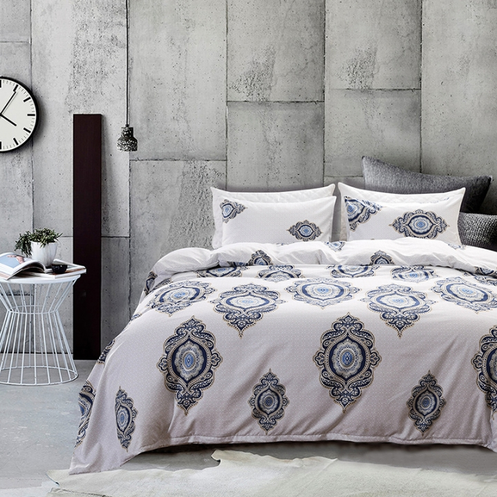 Glyptograph Elegant Bedclothes Set Duvet Cover Pillow Case High Quality Glyptograph king