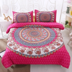 Bohemia Style Skin Friendly Bedlinen Home Duvet Cover Sheet Bedclothes Pillowcase Bohemia-1 twin
