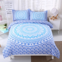 Bohemia Style Skin Friendly Bedlinen Home Duvet Cover Sheet Bedclothes Pillowcase Bohemia-3 queen