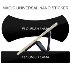 Universal Nano Sticker For Huawei Multi-purpose Magic Wall Desk Phone Holder black as picture selfi 100