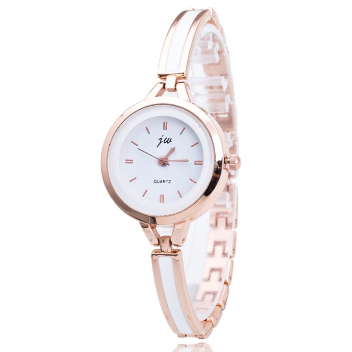 Ladies Fashion Elegance Bracelet Dress Wristwatches Student Classic Casual Quartz Watches gold
