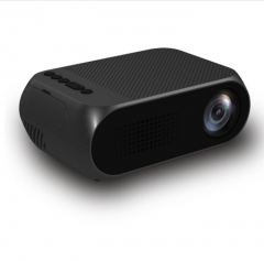 LED 1080P HD Projector for Home Office black one size