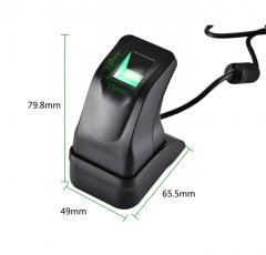 USB Fingerprint Reader Sensor Capturing Reader scanner for Computer PC Home and Office Free SDK Black