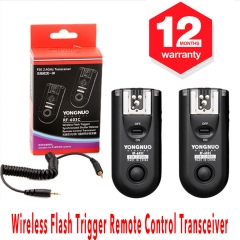 Yongnuo RF-603C Wireless Remote Flash Trigger Kit Transceiver for Canon Camera Flash Trigger