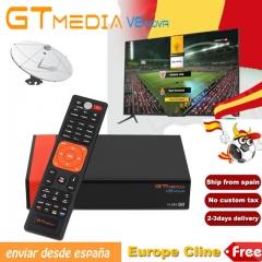 GTMedia V8 Nova Built-in WiFi DVB-S2 FTA Satellite Receiver Full HD Support Powervu Biss key Decoder black one size