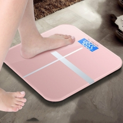Bathroom Weight Body Scales Accurate Smart Electronic Digital Weight Home Health Glass LED Display white one size
