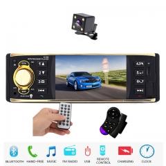 Car Radio 1 Din Autoradio 4.1 inch Car Audio Stereo Radios FM MP5 Player Support Rear View Camera